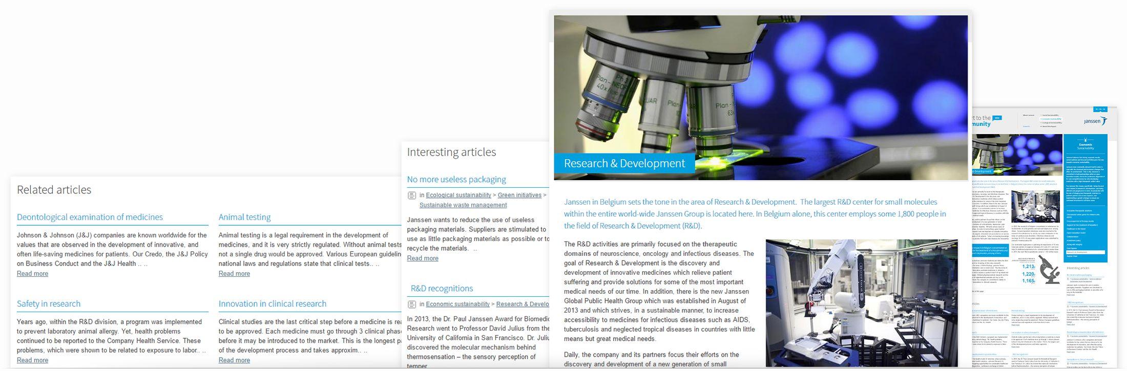 Janssen 2013 - page structure