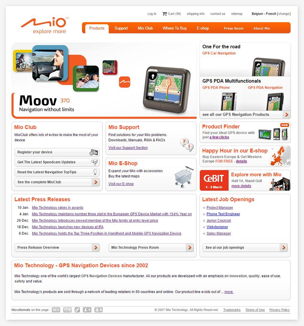 adaptable homepage