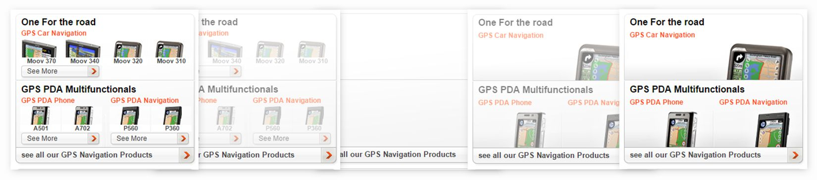 Mio Technology - homepage GPS selection initialization
