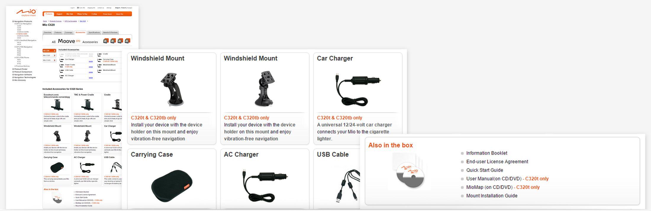 Mio Technology - device accessories