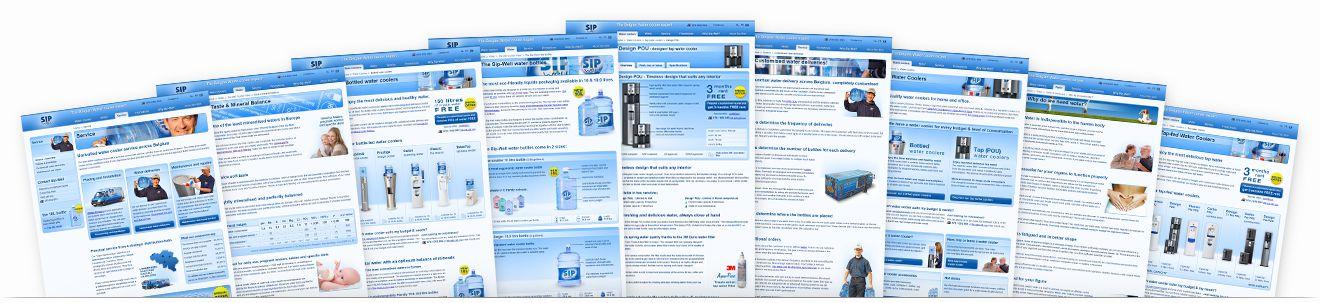 Sip-Well website overview
